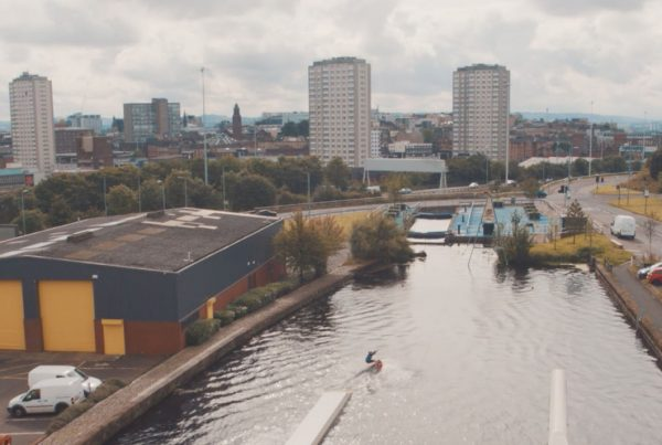 Glasgow Canal Project - Wakeboard Wake Park Drone Video