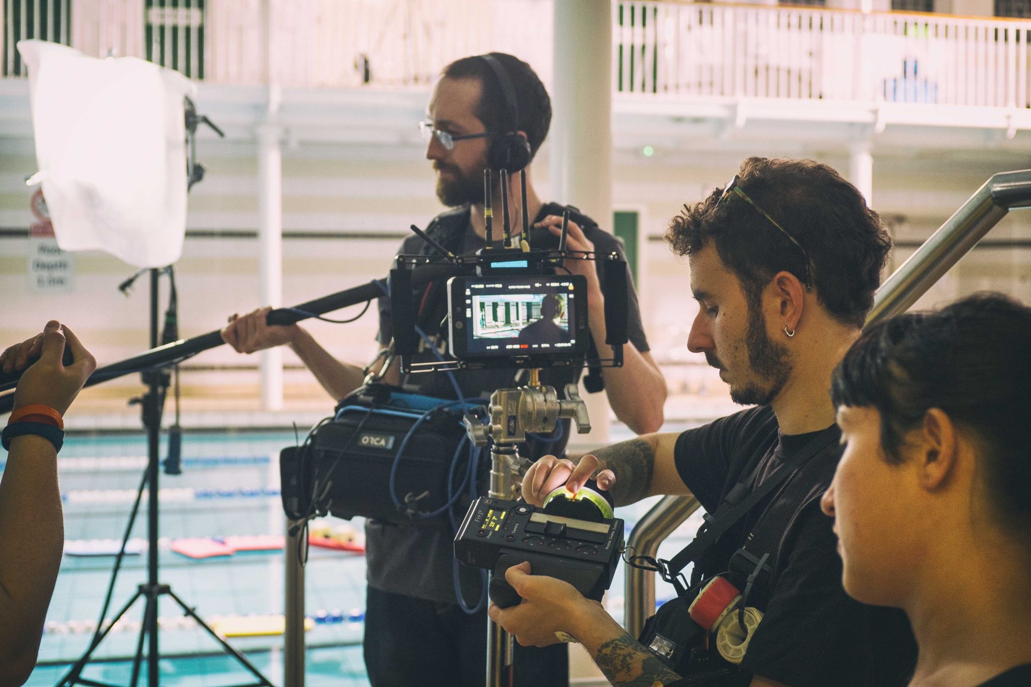 Shakehaus Crew Hire Sound Recording Camera Assistant 1st AC Focus Puller Production Services Scotland