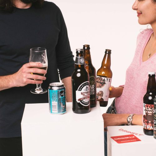 Drinkly Christmas Photoshoot Food & Drink Models Party Craft Beer