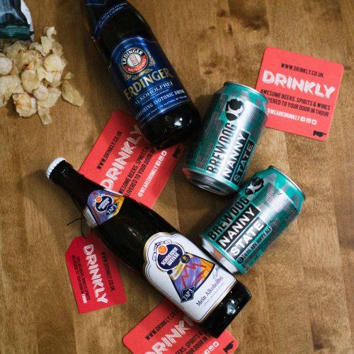 Drinkly Photoshoot Craft Beers Scotland